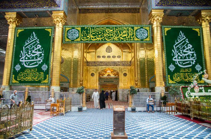 The al-Abbas's (p) Holy Shrine celebrates the birth anniversary of the Imam al-Hassan al-Mojtaba (peace be upon him).