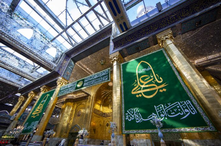 The al-Abbas's (p) Holy Shrine celebrates with joy the birth anniversary of Imam Ali (peace be upon him).