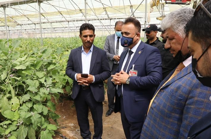 Ministry of Agriculture: The projects of the al-Abbas's (p) holy shrine are sophisticated and have contributed to achieving food security and supporting the national economy.