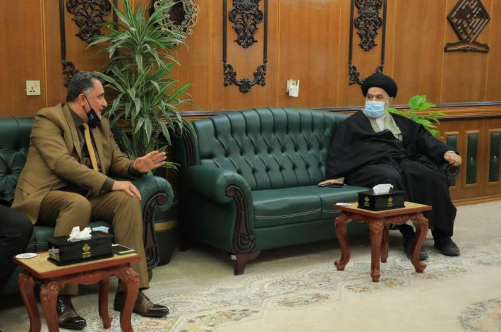 Sayed. Al-Safi visits Al-Ameed University and reviews a number of important matters.